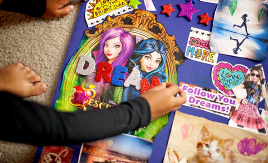 What Is A `Vision Board' – And Why Every Child Should Have One